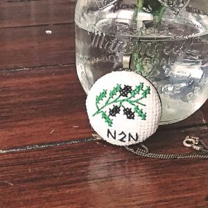 N2N Olive Branch Necklace